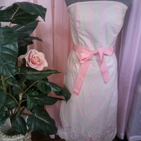 Lilly Pulitzer Dresses & Skirts - Vintage Lily Pulitzer Strapless Dress
